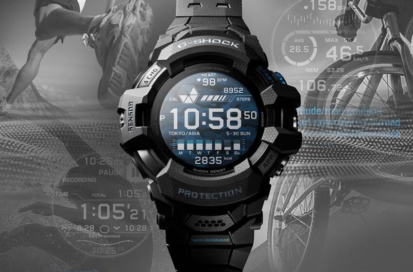 G-Shock is the first smartwatch to use Google's Wear OS