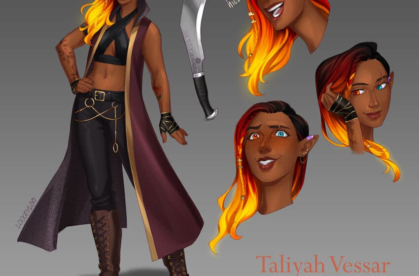 Choosing a Beautiful Name for Your Female Fire Genasi
